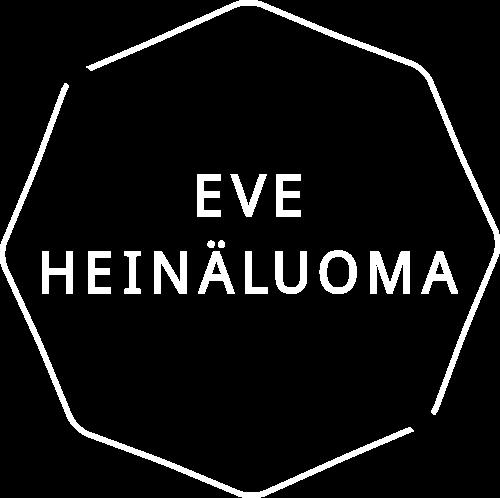 Eve Heinäluoma, valkoinen logo